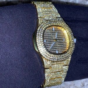 Other - Gold Baller Watch ICED 💎
